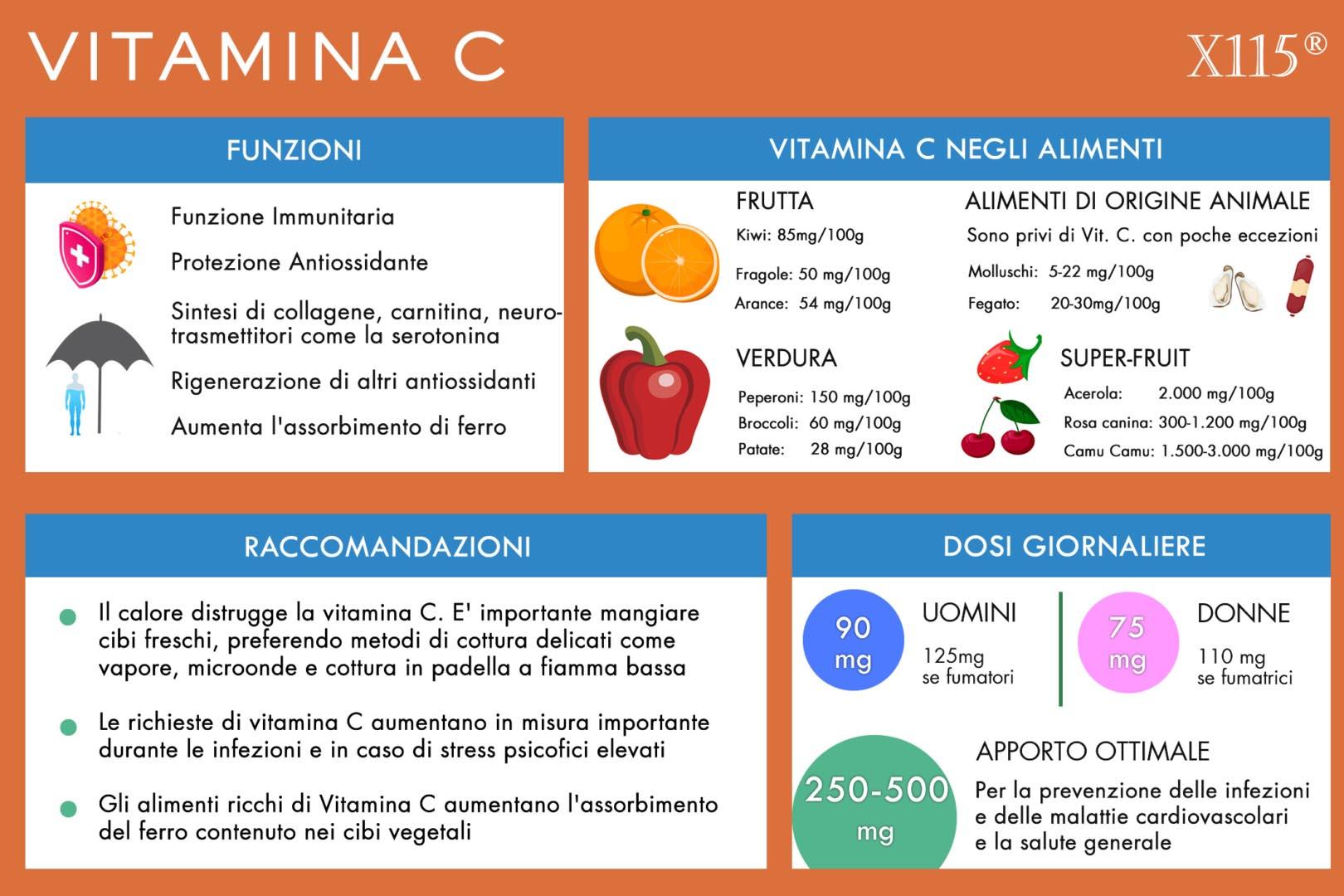 Vitamina C Infografica